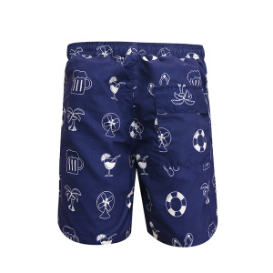 Men's Beach Shorts Swim Trunks Beach Surfing Swimming Shorts with Pockets Casual Fashion