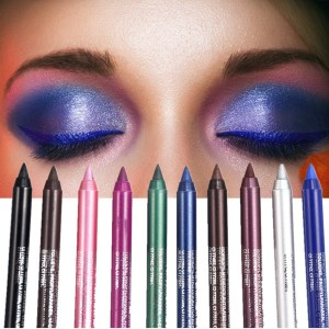 10Pcs Mix Color Cosmetic Make Up  Long Lasting Eyeliner for Women