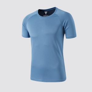 Workout Shirts for Men Short Sleeve Quick Dry Athletic Gym Active T Shirt Moisture Wicking