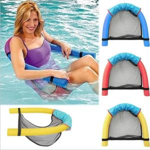 Pool Noodle Floating Mesh Chair for Floating Pool Noodle, Pool Noodle Not Included, Only Swimming Net Lounge Chair Seat, Great for Water Relaxation