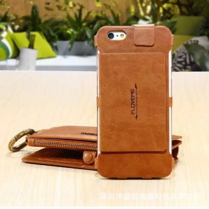 Classic Retro Stand Wallet Case for iPhone Suitable For Iphone SE/5S