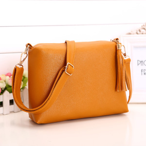 small Hot-selling Vintage style crossbody material sling bag for Women PU Leather Ladies handbag