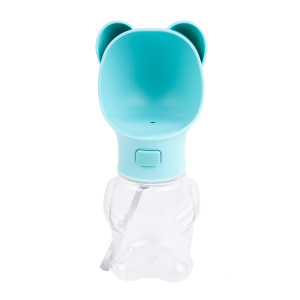 Dog Water Bottle for Walking Pet Outdoor Travel Puppy Doggy Doggie Water Bowl Dispenser Kittens Drinking Kettle Feeding Cup