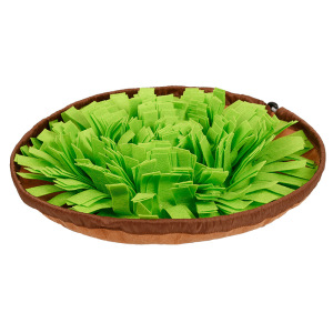 Pet Snuffle Mat for Dogs, Interactive Feed Game for Boredom, Encourages Natural Foraging Skills for Cats Dogs Bowl Travel Use, Dog Treat Dispenser Indoor Outdoor Stress Relief