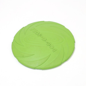 Dog Frisbee Indestructible Toys, Soft Dog Flying Discs Interactive Dog Toys for MediumDogs Fetch, Aerodynamic Design and Floats in Water
