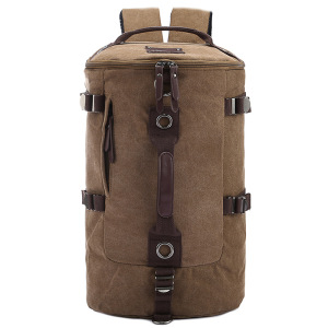 High Quality Duffel Canvas Camping Backpacks Travel Bags