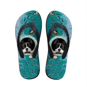 Adorable Dogs Flip Flops, Available For Customization