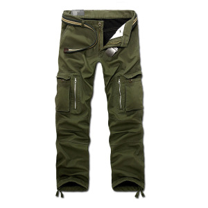Men's Multi Pocket Military Jeans Casual Training Plus Size Cotton Breathable Army Camouflage Cargo Cotton Pants