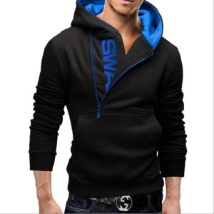 Casual Wear Printing Suit Men's Hooded Sweater Wei Pants Sports Suit Youth Leisure Suit